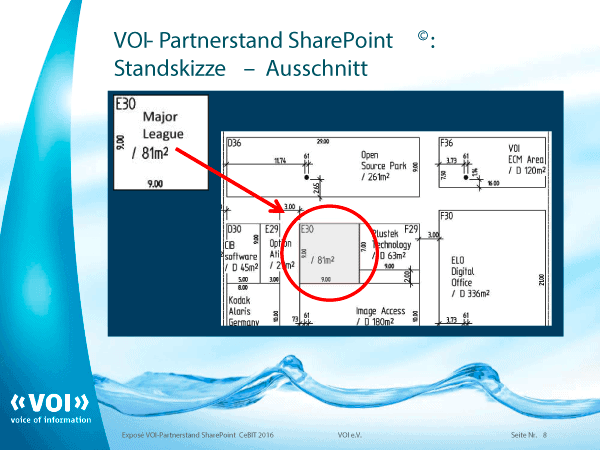 VOI Partnerstand CeBIT 2016 Grafik