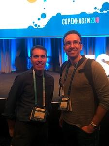 Jeff Teper und Marcel Meier in Kopenhagen 2018