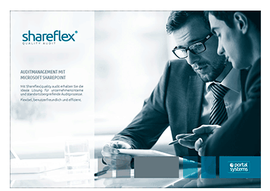 Vorschaubild Shareflex Quality Auditmanagement Kurzguide