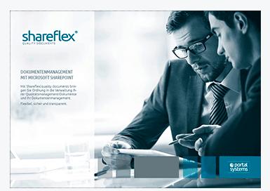 Vorschaubild Shareflex Quality Dokumentenmanagement Kurzguide
