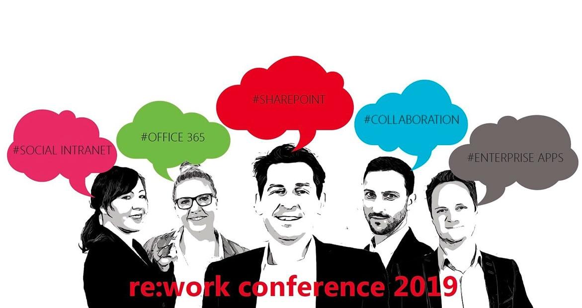 Die re:work conference 2019 ist eine Veranstaltung zu den Themen Modern Work und Collaboration