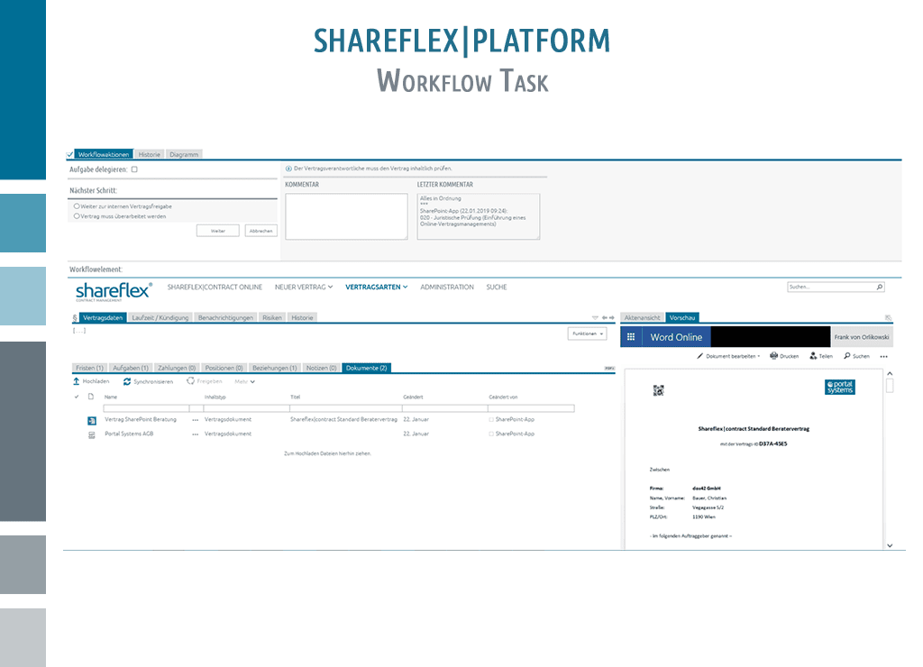 Easily configure and assign workflow tasks using Shareflex