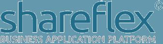 Hier steht das Shareflex Logo.