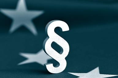 symbol paragraph eu-flagge