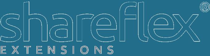logo shareflex extensions partnerlösungen und erweiterungen