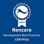 certficate rencore development best practices 2020 to 2021