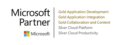 Microsoft Gold and Silver Partner Certficates of Portal Systems AG