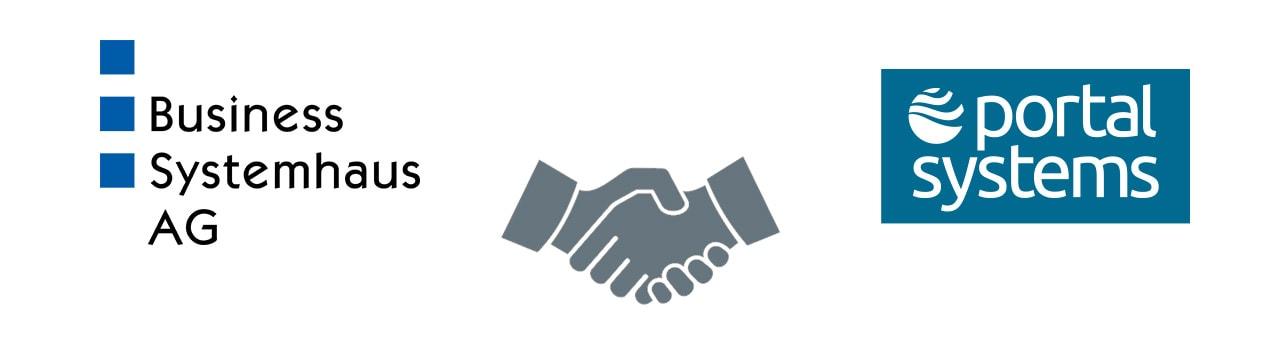 Partnerschaft von Business Systemhaus AG und Portal Systems AG im Bereich Modern Workplace.