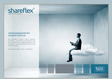 Vorschau auf den Shareflex Contract Online Kurzguide in der Portal Systems Mediathek