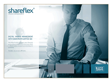 Preview of the short guide for Shareflex Invoice in the Portal Systems media library