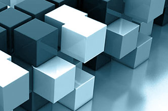 A block of building blocks as a symbol for Shareflex, the digital platform for business applications by Portal Systems
